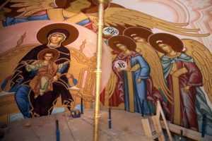 Художественная роспись храма