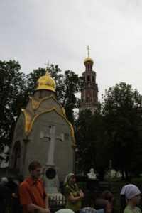 Новодевичий монастырь.