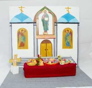 Пасхальные творческие работы воспитанников воскресной школы 2011 года