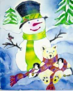 Рождественские творческие работы воспитанников воскресной школы 2012 года