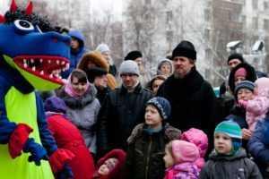 Святочные гуляния 2012 год.