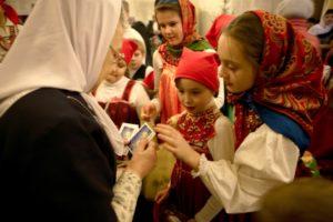 Рождественские песнопения. 2012 год.