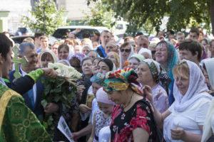 Престольный праздник 700-летия со дня рождения прп.Сергия Радонежского. 18 июля 2014 года.