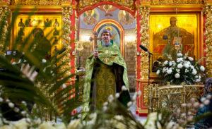 Вход Господень в Иерусалим 2015 год