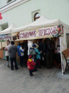 Праздничный концерт, подготовленный воспитанниками воскресной школы к 70-летию Победы в ВОВ