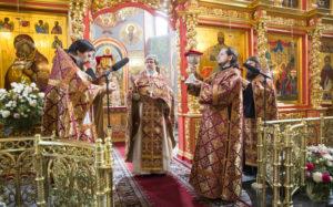 Праздник Воздвижения Честного и Животворящего Креста Господня. 27 сентября 2015 года.
