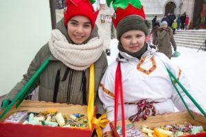 """Детский праздник """"Рождественская ёлка"""". 10 января 2016 года."""