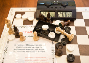 """Проведение III шахматного турнира в воскресной школе """"Радовесть"""". 12 марта 2016 года."""