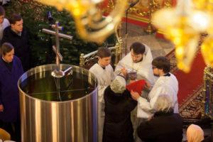 Праздник Крещения Господа Бога и Спаса нашего Иисуса Христа. 18-19 января 2017 года.