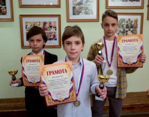"IV Шахматный турнир ВШ ""Радовесть"". 11 марта 2017 год."