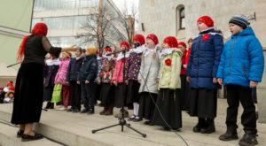 В храмовом комплексе прп.Сергия Радонежского на Рязанке прошел Пасхальный фольклорный фестиваль «РАДОВЕСТЬ»