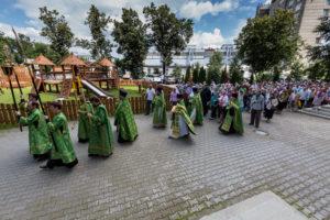 Обретение честных мощей прп.Сергия игумена Радонежского и всея России чудотворца. 18 июля 2017 года.