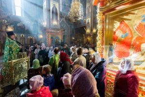 Преставление прп. Сергия игумена Радонежского и всея России чудотворца. 08 октября 2017 года.