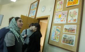 """Студенты педагогического факультета ПСТГУ посетили ВШ """"РАДОВЕСТЬ"""""""