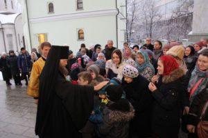 Детская архиерейская литургия в день памяти святителя Николая  архиепископа Мир Ликийских чудотворца. 19 декабря 2017 года. (2)