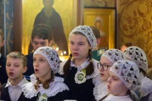 Рождественская  детская  литургия. 7 января 2018 год. (2)