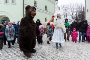 """Детский праздник """"Рождественская ёлка"""". 14 января 2018 года."""