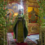 Троица 7 июня 2020 года в Храмовом комплексе преподобного Сергия Радонежского на Рязанке