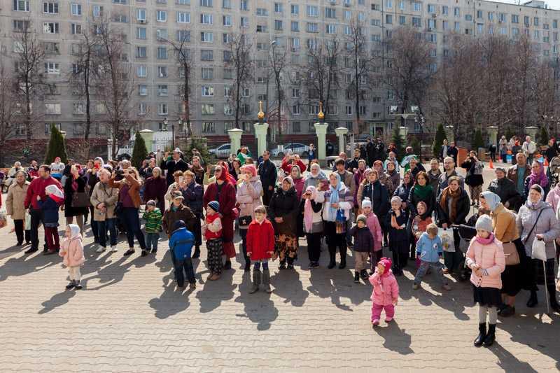 """Пасхальный фестиваль """"Радовесть"""". 15 апреля 2018 года."""