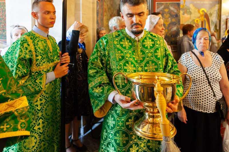 Обретение честных мощей прп.Сергия игумена Радонежского и всея России чудотворца. 18 июля 2018 года.