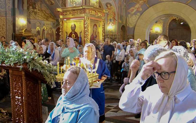 Рождество Пресвятой Владычицы нашей Богородицы и Приснодевы Марии.21 сентября 2018 года.