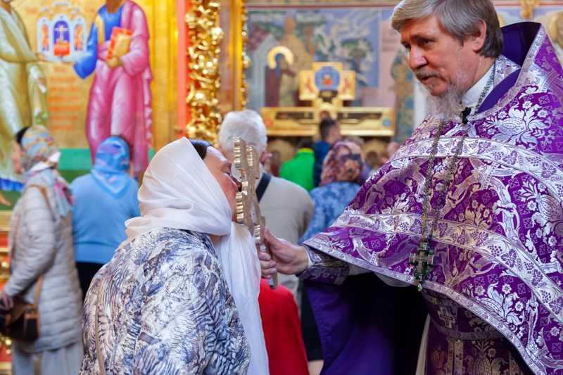 Воздвижение Честного и Животворящего Креста Господня. 27 сентября 2018 года.