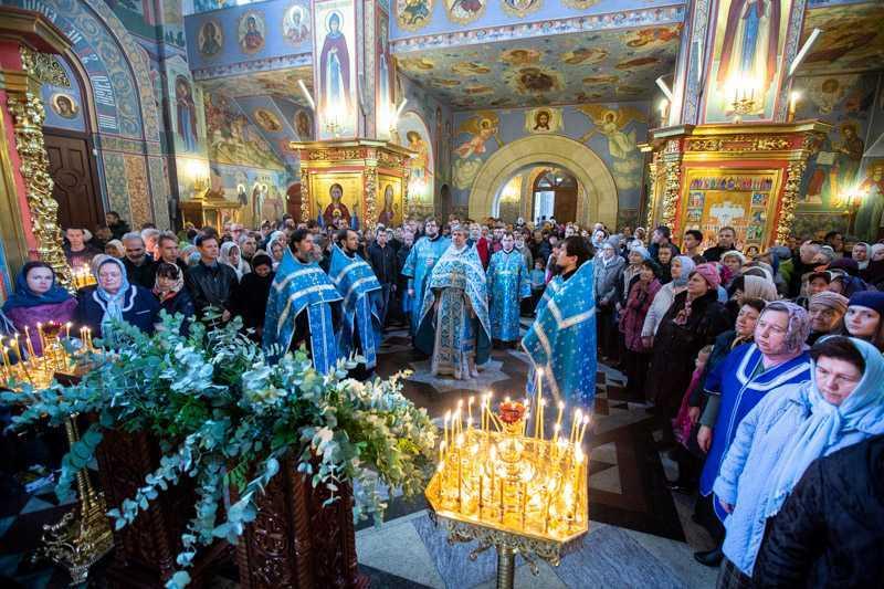 Празднование Казанской иконе Божией Матери. 04 ноября 2018 года.