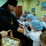 Божественная литургия в день памяти святителя Николая, архиепископа Мир Ликийских чудотворца. 19 декабря 2018 года.