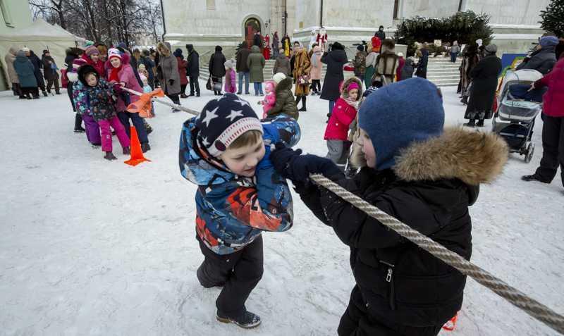 """Детский праздник """"Рождественская ёлка"""". 13 января 2019 года."""