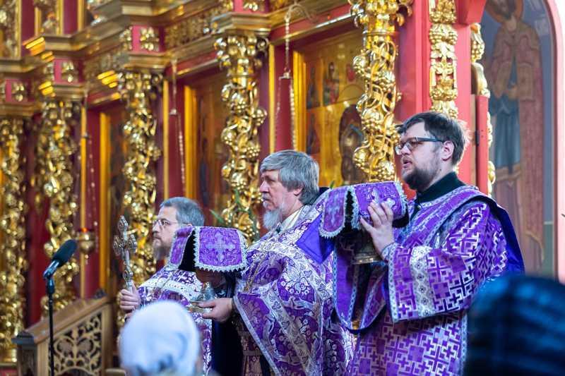 Воздвижение Честного и Животворящего Креста Господня. 27 сентября 2019 года.
