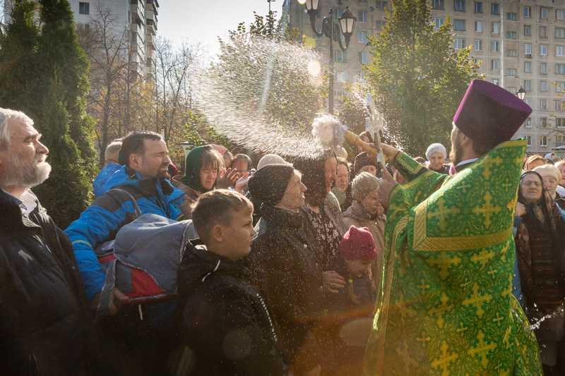 Преставление прп. Сергия игумена Радонежского и всея России чудотворца. 08 октября 2019 года.