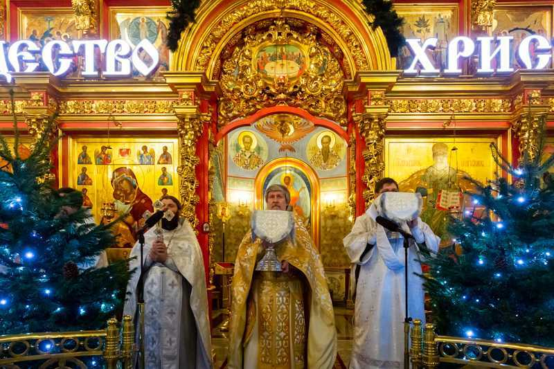 Рождество Господа Бога и Спаса нашего Иисуса Христа. 07 декабря 2020 года.