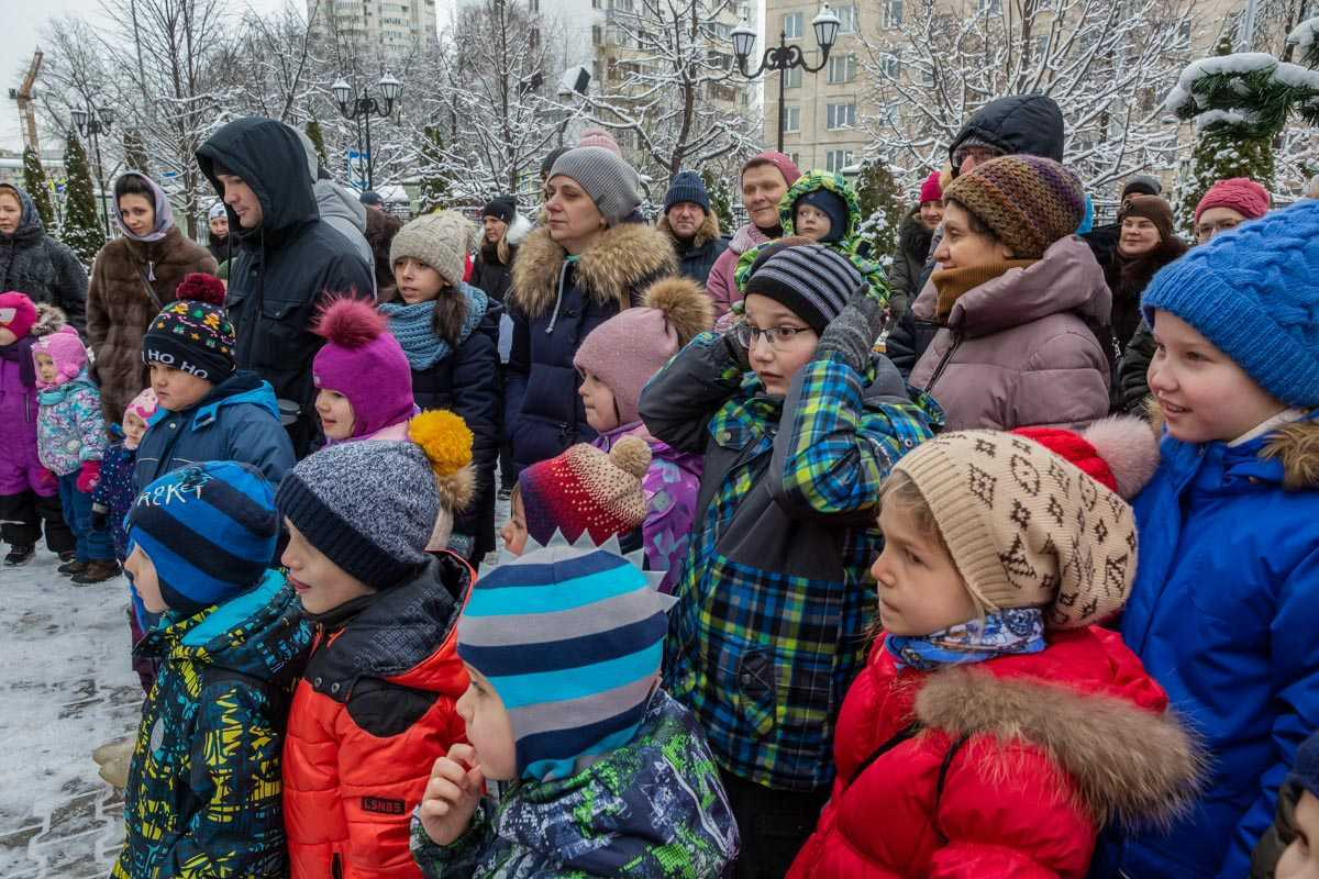 """Детский праздник """"Рождественская ёлка"""". 12 января 2020 года."""