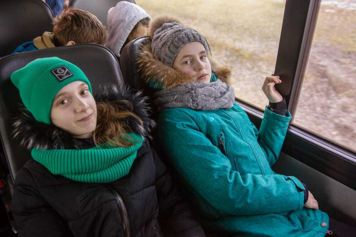 """Воспитанники воскресной школы """"Радовесть"""" совершили паломническую поездку в Калужскую область и Оптину Пустынь. 22-24 февраля 2020 года."""