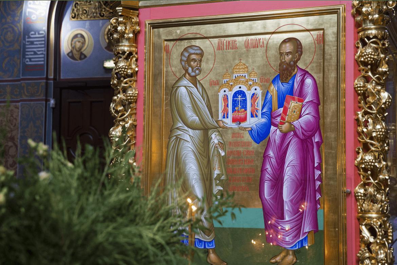 12 июля 2020. Неделя 5-я по Пятидесятницы. Славных и всехвальных первоверховных апостолов Петра и Павла.