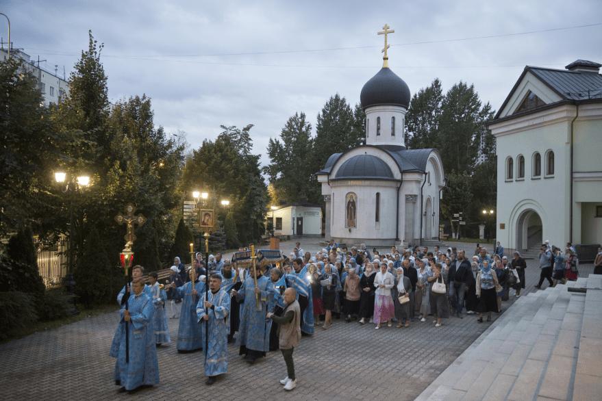 Чин Погребения Пресвятой Богородицы 27 августа 2020
