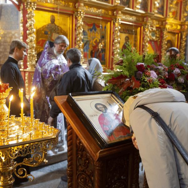 29 сентября. День памяти мученика Виктора и мученицы княгини Чешской Людмилы