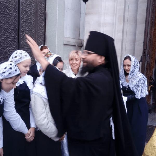 Воскресная проповедь управляющего викариатством архиепископа Егорьевского Матфея