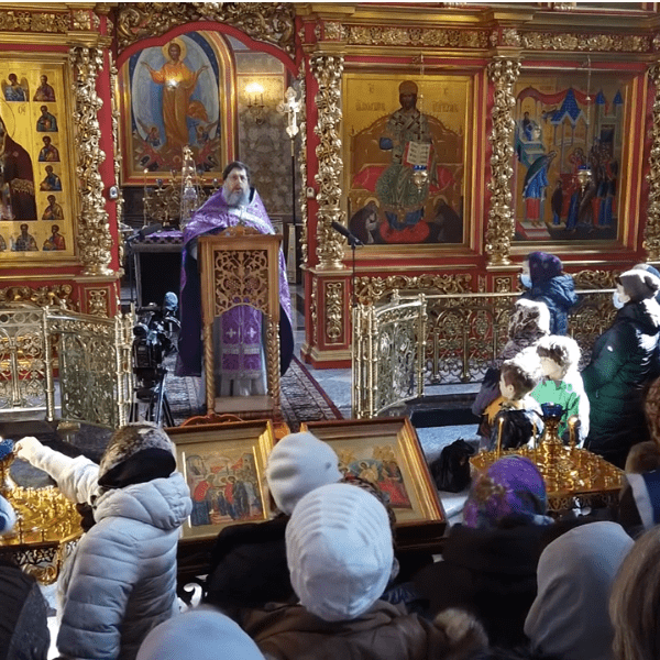 Неделя 1-я Великого поста. Торжество Православия. Проповедь иерея Дмитрия Самохина