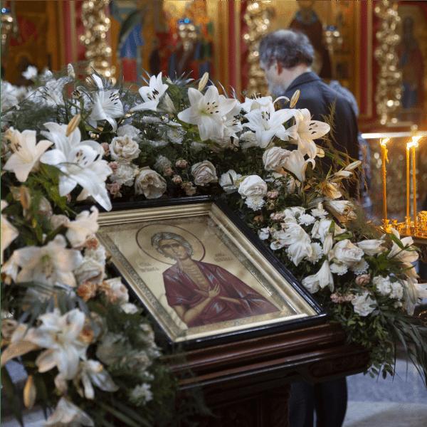 Утреня с чтением великого канона прп. Андрея Критского, 14.04.2021