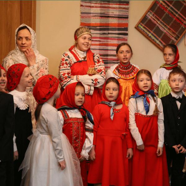 """Пасхальные поздравления воспитанников воскресной школы """"Радовесть"""". 2 мая 2021 года"""