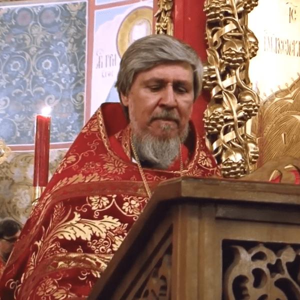 Пасхальное послание Святейшего Патриарха Кирилла огласил протоиерей Виктор Сандар