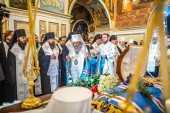 Новопреставленный митрополит Луганский и Алчевский Митрофан погребен на кладбище Киево-Печерской лавры
