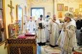 Патриарший экзарх всея Беларуси освятил часовню при Республиканском научно-практическом центре детской онкологии