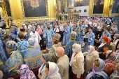 В праздник Смоленской иконы Божией Матери «Одигитрия» в Смоленске состоялась соборная Литургия
