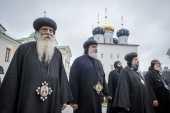 Делегация монашествующих Коптской Церкви посетила Тверскую и Новгородскую митрополии