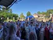 Новый храм Украинской Православной Церкви вместо захваченного раскольниками в Тернопольской области построили за 94 дня