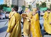 Предстоятель Русской Церкви освятил восстановленный Александро-Невский собор в Волгограде