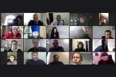 Председатель Синодального отдела по взаимоотношениям Церкви с обществом и СМИ провел онлайн-совещание с представителями епархий Южного и Северо-Кавказского федеральных округов