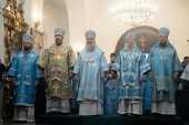 В Раифском Богородицком монастыре молитвенно отметили праздник Грузинской иконы Божией Матери и 30-летие возрождения обители